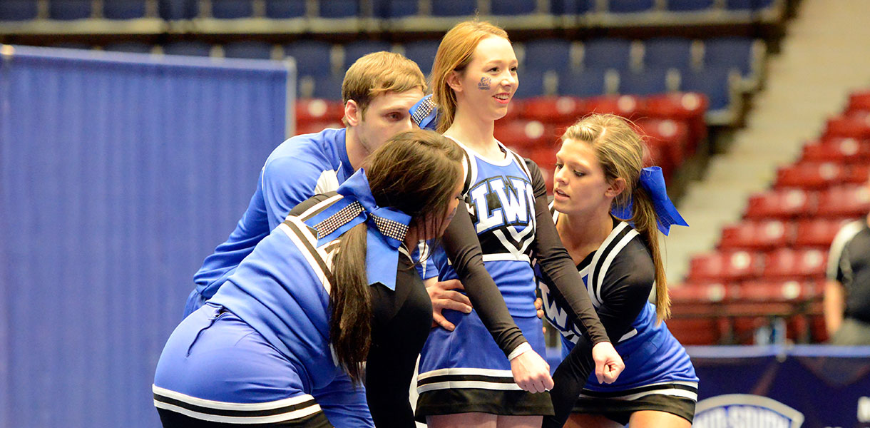 Photo for Cheer team posts third-place finish at Mid-South Conference Championships