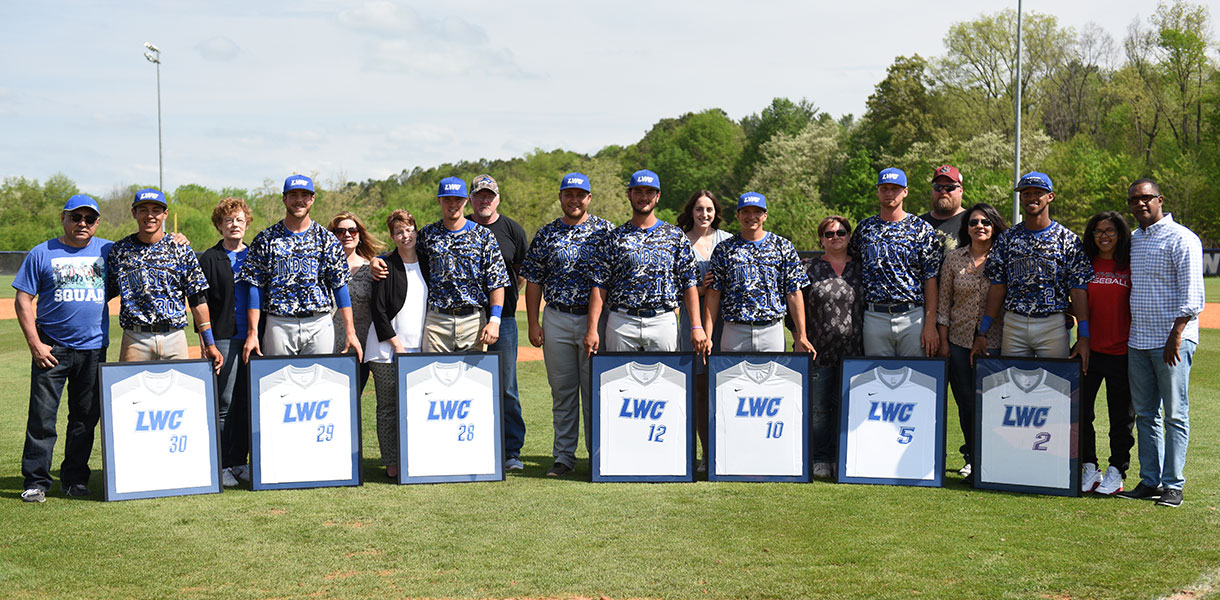 Photo for Baseball falls to Pikeville, 10-5, on Senior Day