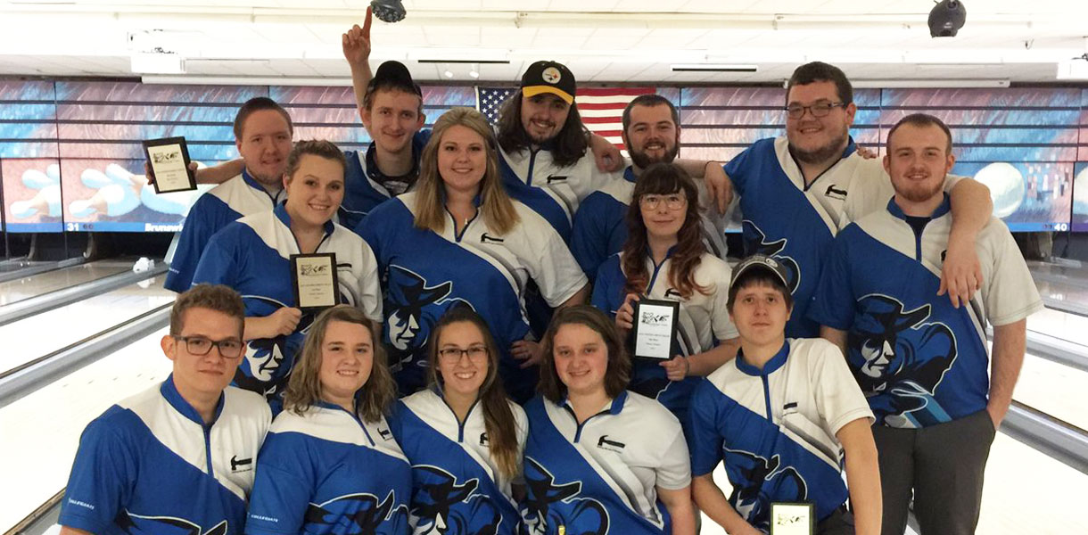 Photo for Men's Bowling wins WVU Mountaineer Classic, Women finish second