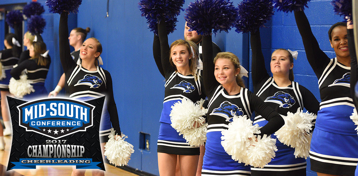 Photo for Cheerleading competes at MSC Championships Wednesday night