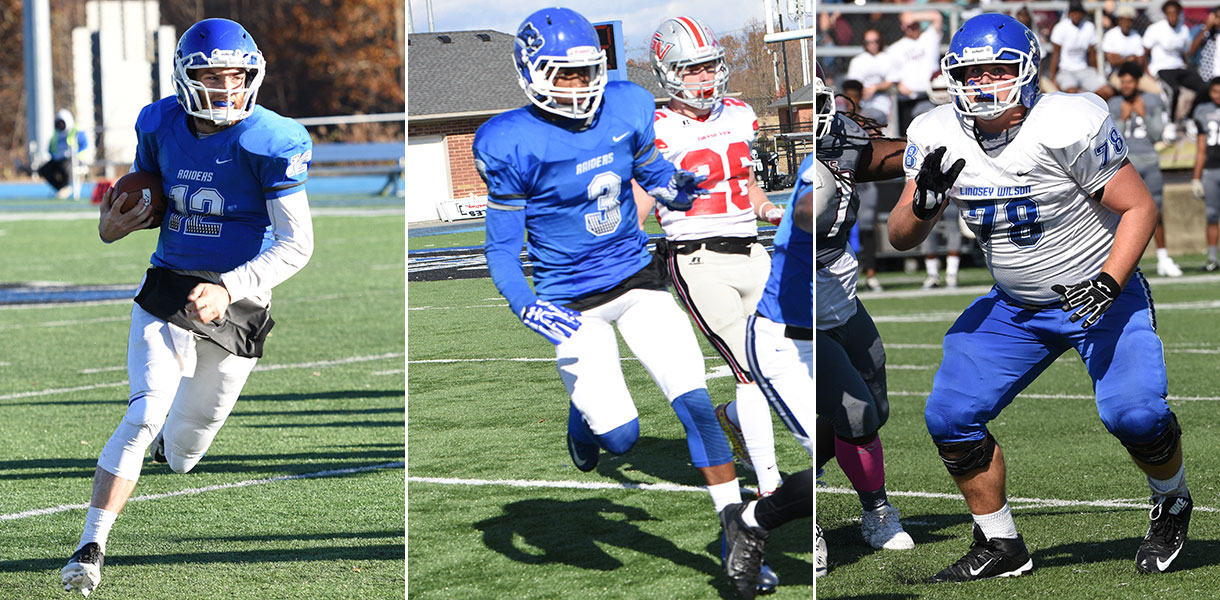Photo for Three Blue Raiders named to 2017 All-Commonwealth Football Team
