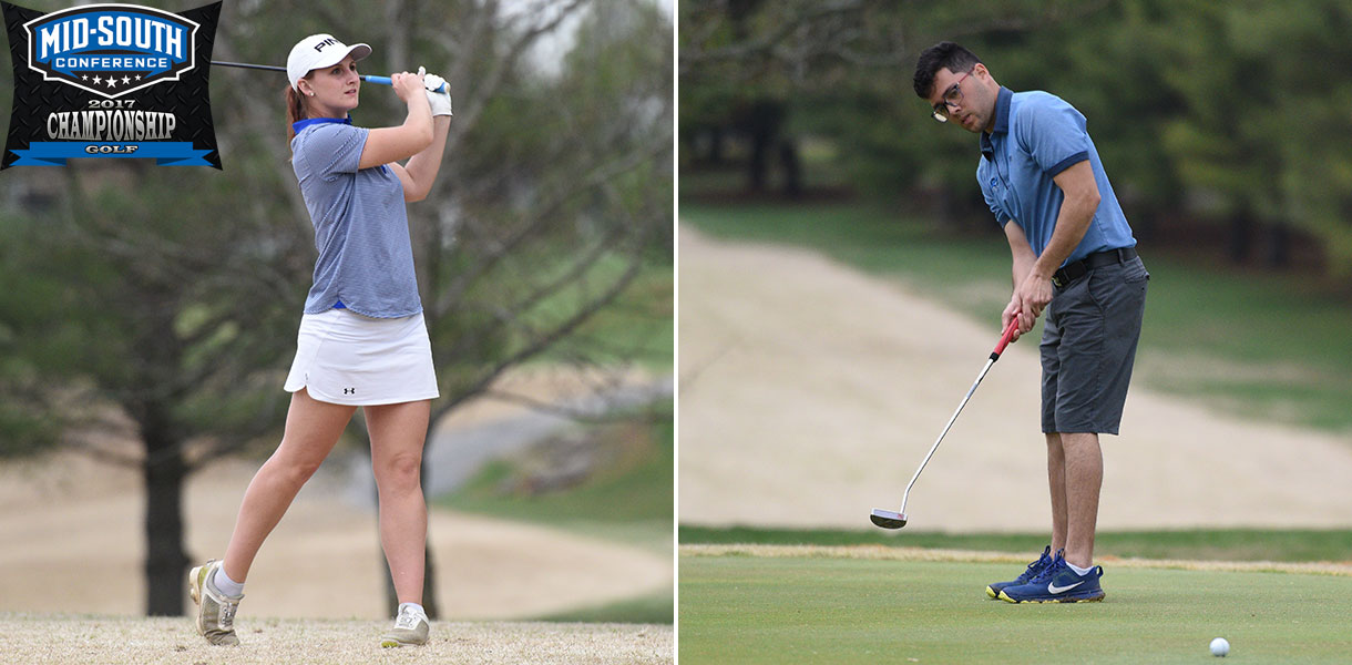 Photo for Men's and Women's Golf prepare for MSC Championships this Monday through Wednesday
