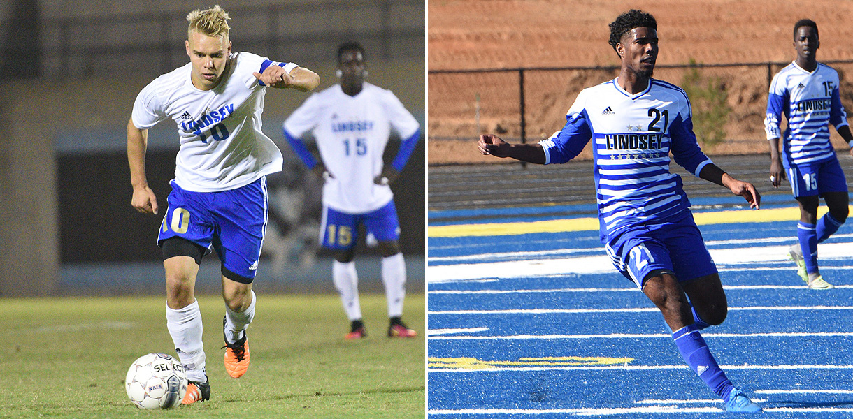 Photo for Pahkasalo and Revanales earn NAIA Men's Soccer All-American Honors