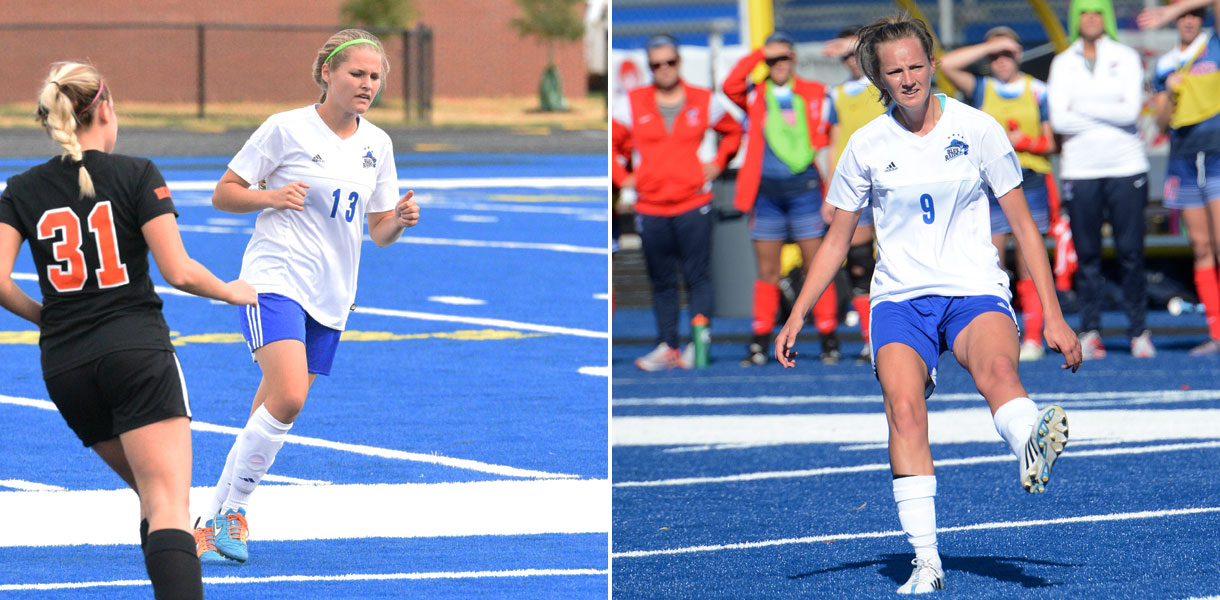 Photo for Two Women's Soccer student-athletes named Daktronics-NAIA Scholar-Athletes