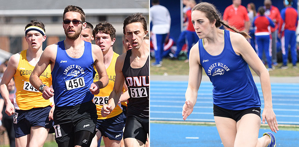 Photo for Hoffman and Green earn NAIA Track & Field Scholar-Athlete honors