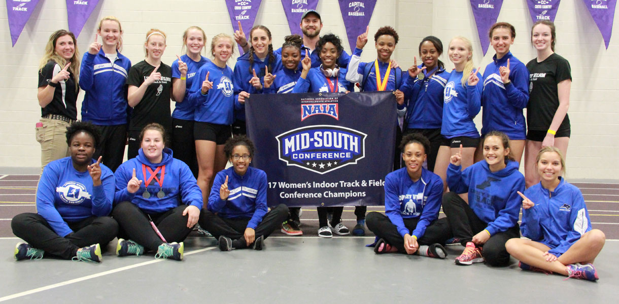 Photo for 2016-17 Rewind: Women's Indoor Track & Field