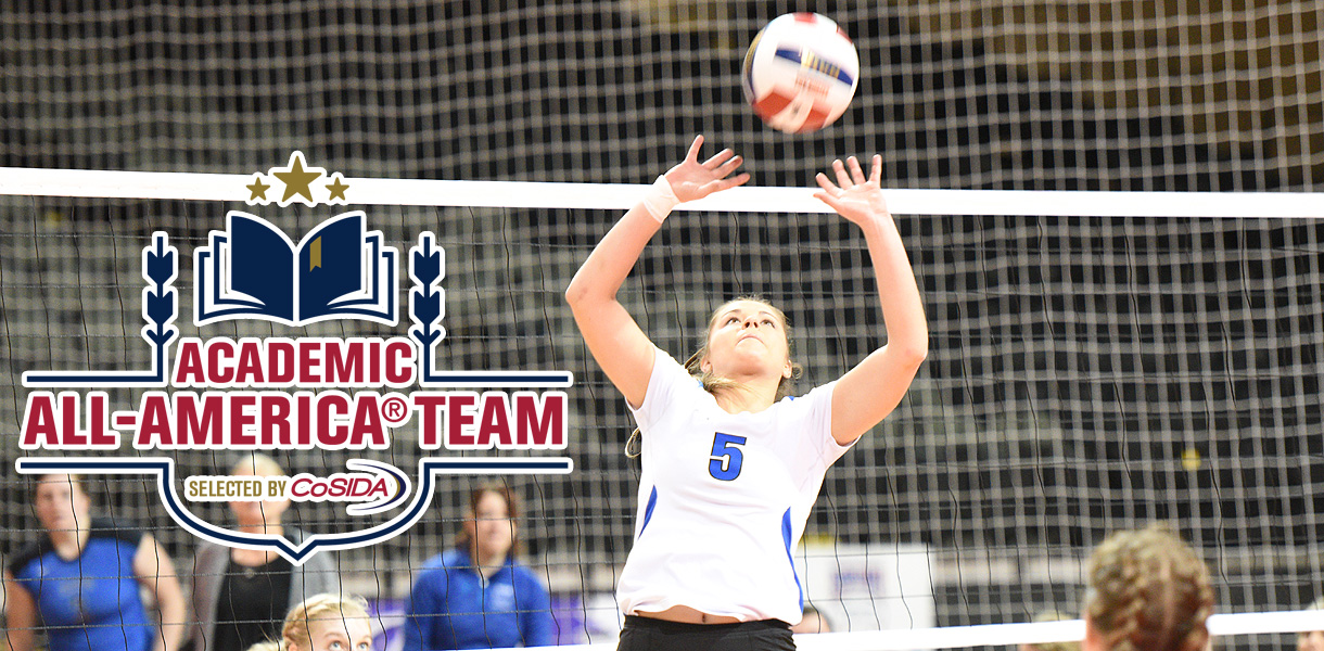 Photo for Montano earns CoSIDA Academic All-America College Division Second Team honors