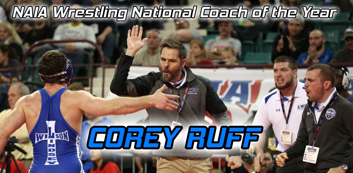 Photo for Ruff named NAIA Wrestling National Coach of the Year