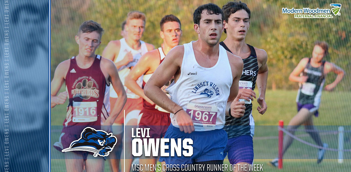 Photo for Owens named MSC Men's Cross Country Runner of the Week