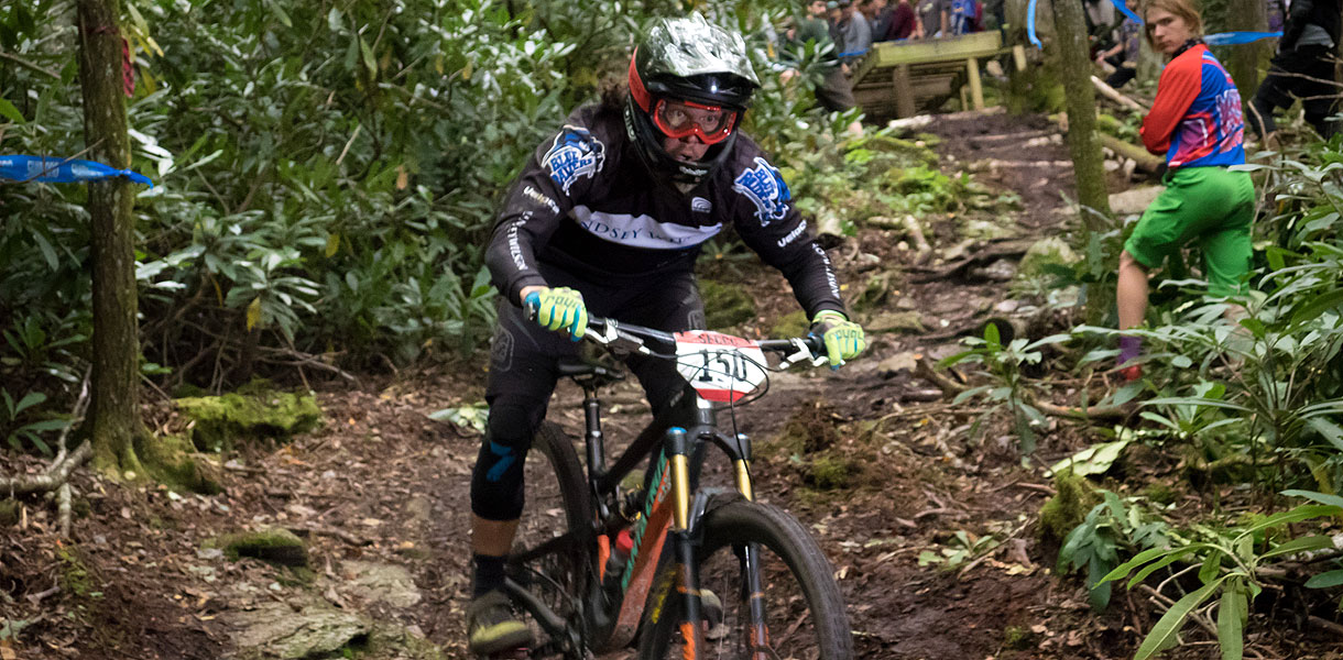 Photo for Cycling's Smith wins downhill race at High Country Collegiate Mountain Bike race