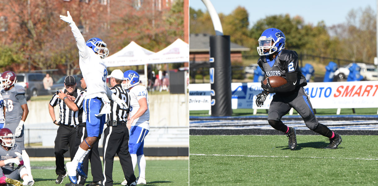 Photo for Brackins, Cooks named to College Football America NAIA Starting Lineup