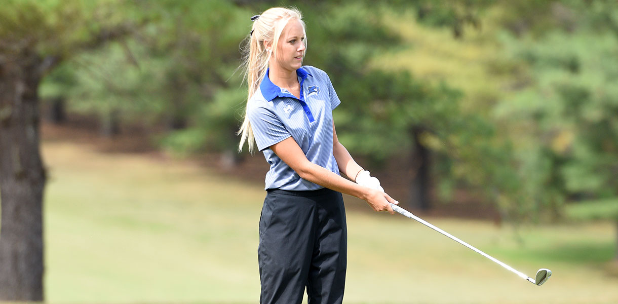 Photo for Women's Golf moves up, finishes third at Thomas Invitational