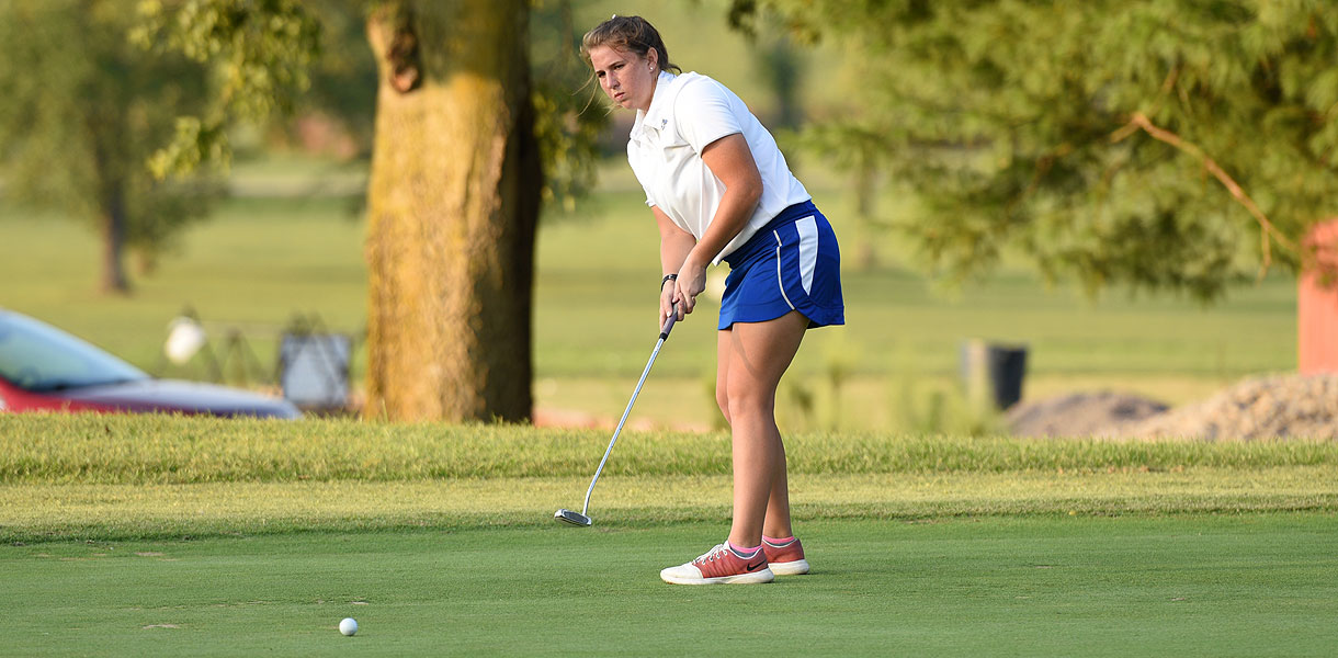 Photo for Women's Golf sits in fourth following opening round at Carey Collegiate Classic