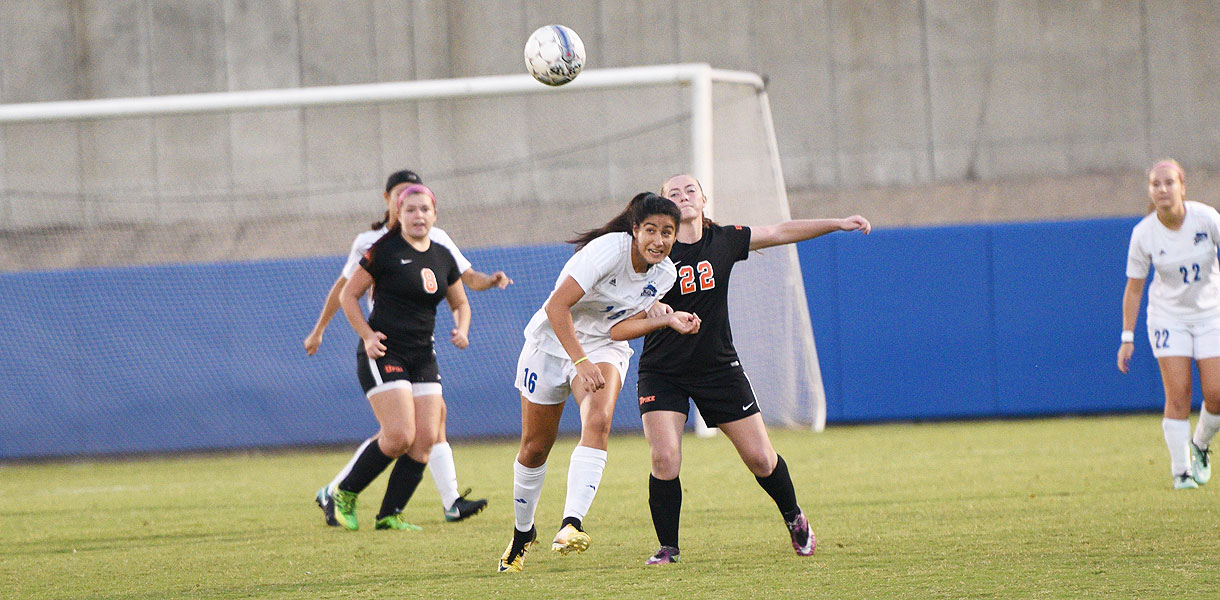 Photo for Women Soccer's offensive burst leads to 7-0 win over Pikeville