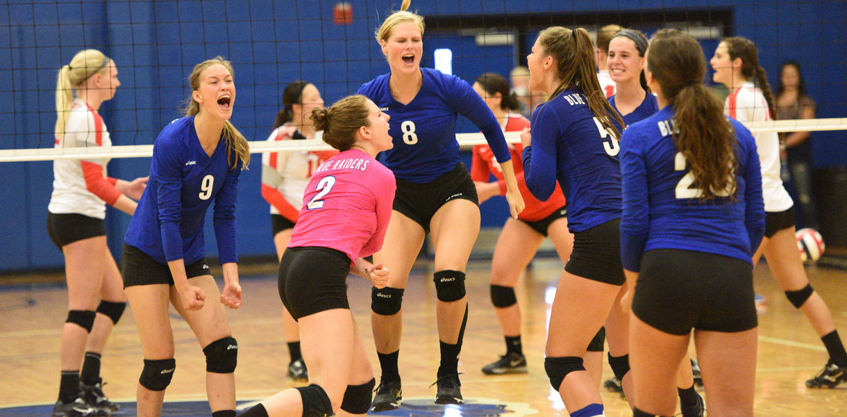 Photo for Volleyball beats two ranked teams to close out LWC Classic